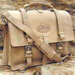 GL100NL-F GLANOR RUSTIC VINTAGE LEATHER BRIEFCASE BACKPACK LAPTOP BAG