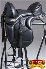 TE102 HILASON ENGLISH TREELESS ENDURANCE TRAIL PLEASURE LEATHER HORSE SADDLE